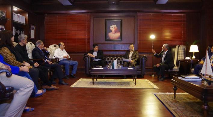 اعلام آمادگی دانشگاه 'اقرا' کراچی پاکستان برای توسعه همکاری علمی با ایران