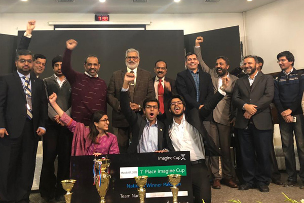 دانشجویان دانشگاه NUST برای امسال هم  HEC- Microsoft Imagine Cup 2019 را به نام خود کردند