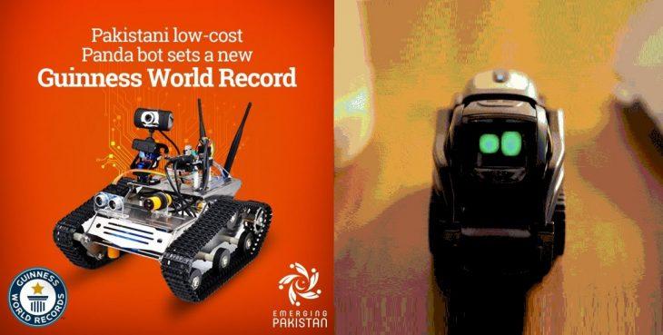 ثبت یک دیگه رکورد جهانی دیگه جدید در گینس در حوضه علوم رباتیک توسط مهندسین مکانیک و رباتیک در کشور پاکستان