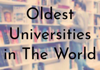 کهنسالترین دانشگاههای جهان