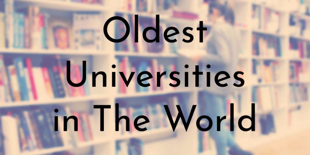 آشنایی با 10 کهنسالترین دانشگاههای جهان که هنوزم فعالیت میکند