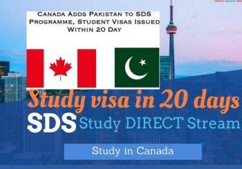 ویزای دانشجویی کانادا در برنامه SDS