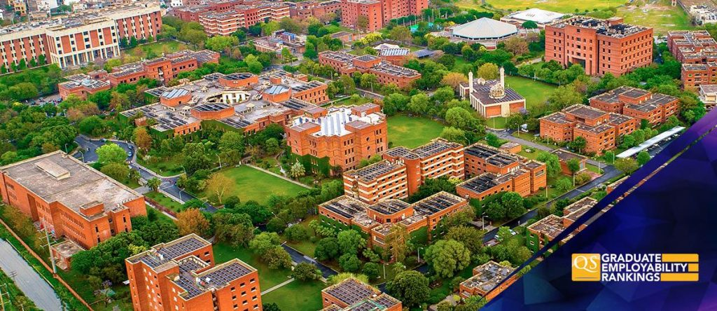 رتبه بندی بین المللی اشتغال دانشگاه LUMS