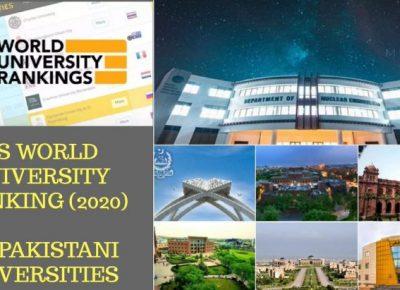 جایگاه دانشگاه های پاکستان در رتبه بندی QS در سال 2020