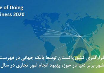 سهولت در انجام کسب وکار در سال 2020