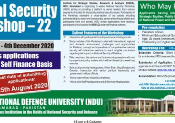 National Security Workshop